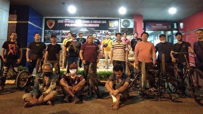 Pencuri Sepeda di Palembang Ditangkap di Jembatan Ampera, Hanya Hitungan Jam Ditangkap AKP Robert