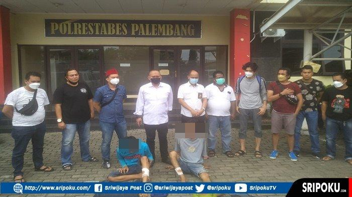 Curi Tabung Gas Milik Pedagang Pempek, 2 Sekawan Ini Keok Ditembak, Coba Kabur dari Kepungan Petugas