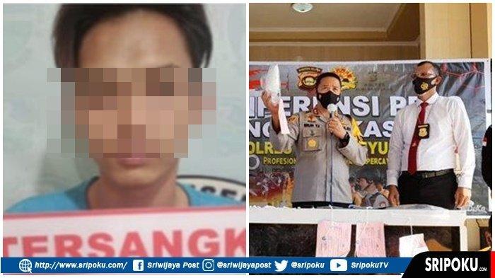 Pengedar Narkoba Ini Jualan Sabu-sabu di Kebun Sawit, Sontak Terkejut Pembelinya Polisi yang Nyamar
