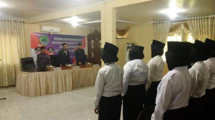 26 Pegawai yang Mengabdi di Daerah Dilantik Jadi CPNS