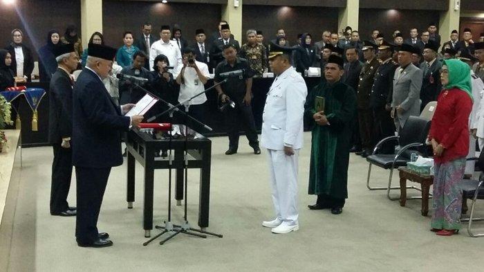 Masa jabatan Walikota Aktif Habis, Musni Wijaya Kembali Dilantik Sebagai PJs Walikota Pagaralam