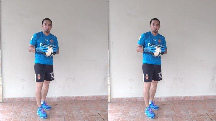 Ferry Rotinsulu Tegaskan Komposisi Kiper Sriwijaya FC 2021 Cukup Tiga
