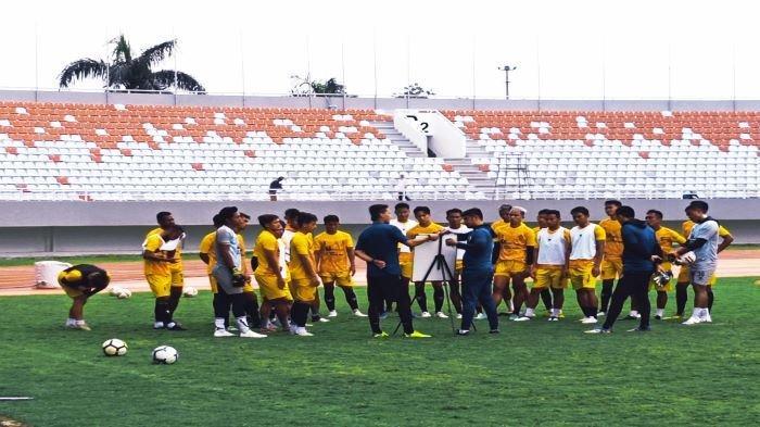 Misi Sapu Bersih, Nil Maizar Sebut Tak Ada Intruksi Khusus, Jelang Sriwijaya FC vs PSPS di Liga 2