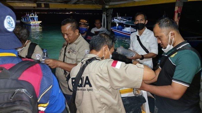 Puluhan Ribu Bibit Lobster Tangkapan Polrestabes Palembang, Dilepas di Lampung: NIlainya Rp14 M
