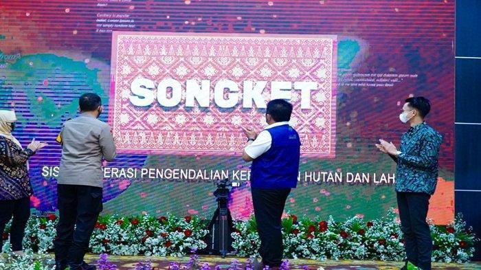 Aplikasi Songket : Inovasi Baru Cegah Potensi Dini Karhutla Sumsel
