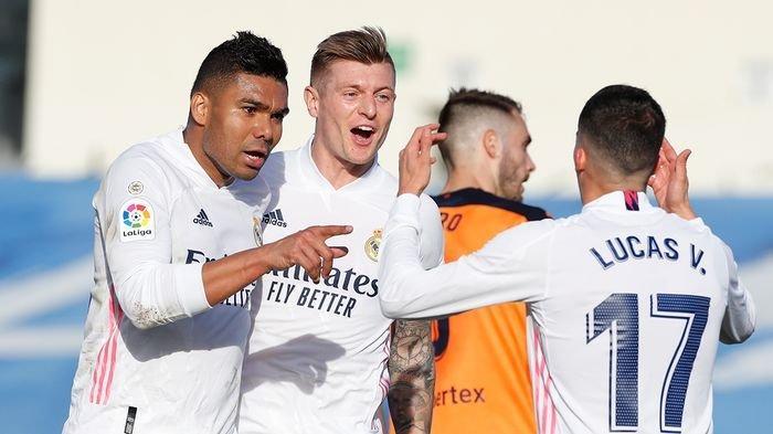 Real Madrid Tuntaskan Misi Balas Dendam, Ini Klasemen Liga Spanyol 2020-2021 Pekan Ke-23