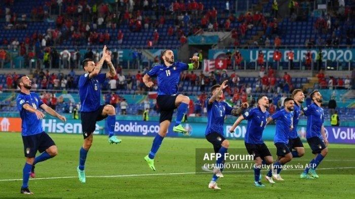 LINK Nonton Live Streaming Euro 2021 Italia vs Inggris Malam Ini, TV Online RCTI & Mola TV (Video)