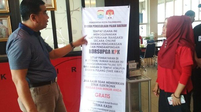Kembali Sebar Pemasangan 100 Mesin e-Tax, BPPD Kota Palembang Prioritaskan Tempat-tempat Ngopi