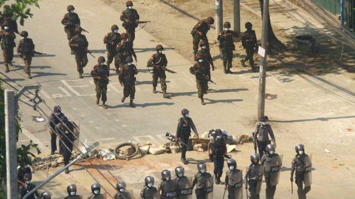 PEMBERONTAK KAREN Angkat Senjata,  Pasang Badan Lindungi Demonstran: Junta Militer Mulai Panik