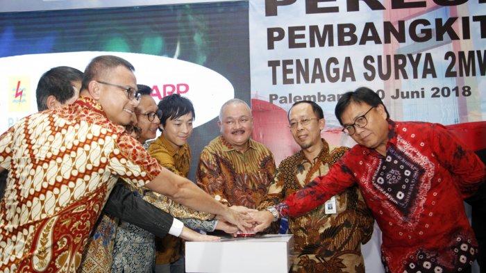 Alex Noerdin: Mau Lihat PLTS Terbesar di Sumatera, Datanglah ke Jakabaring
