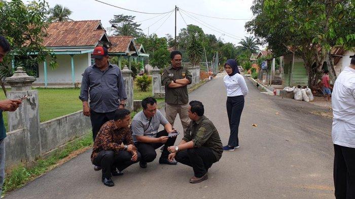 Jalan Aspal Karet di Muba Jadi Sorotan Dinas PUPR di Indonesia