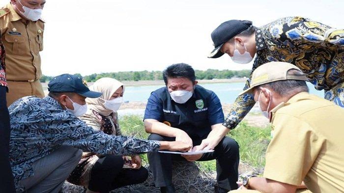 Gubernur HD Tinjau Lokasi Rencana Exit Tol Dalam LahanMilik UnsriIndralaya
