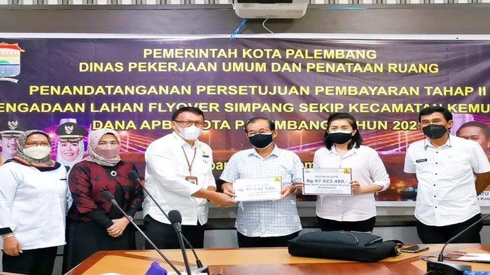 Pembayaran Pembebasan Lahan Flyover Simpang Sekip, Pemkot Palembang Klaim Tinggal Tujuh Persil