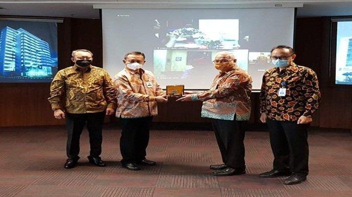 Audiensi Antar Bank Sumselbabel, Bengkulu, Lampung, dan Bank Jambi Kerjasama Pemberian Kredit  Pemda
