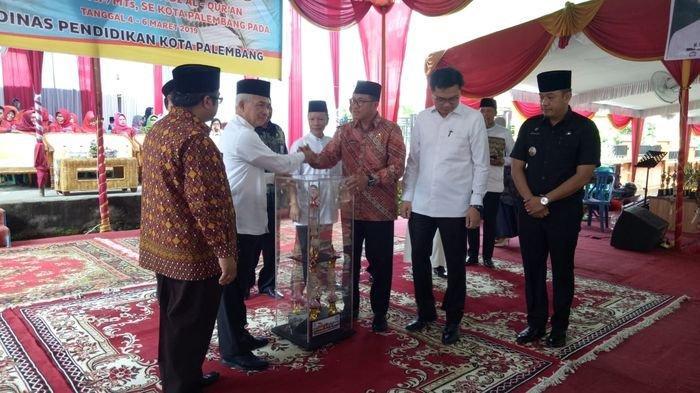 Dinas Pendidikan Kota Palembang Gelar MTQ dan Tahfidz Quran Tingkat Pelajar SD dan MI