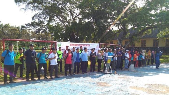 Pembukaan O2SN di SMK PP Negeri Sembawa Berjalan Meriah Diikuti 19 Perwakilan SMK se Banyuasin