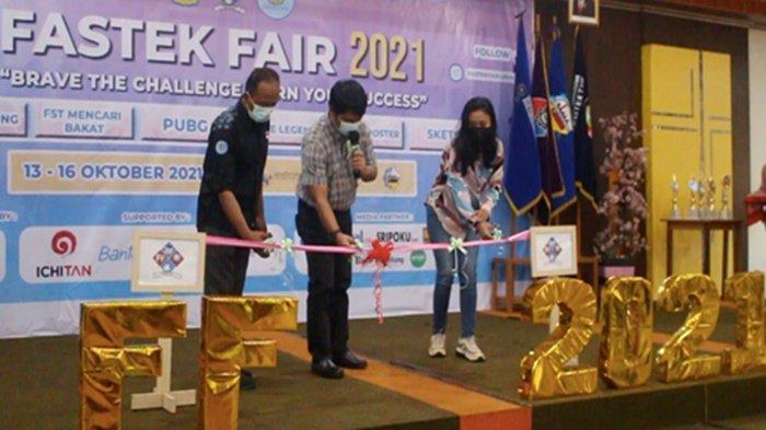 Pembukaan Fastek Fair 2021 oleh Badan Eksekutif Mahasiswa Fakultas Sains & Teknologi UKMC Palembang