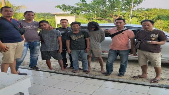 Polisi Bekuk Tiga Pencuri Besi Milik PT KAI di Baturaja OKU