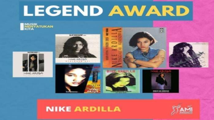 Daftar Pemenang Anugerah Musik Indonesia 2020/AMI Awards 2020, Ada Rhoma Irama, Noah dan Nike Ardila