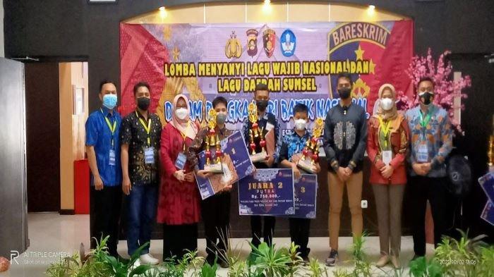 Menanamkan Nasionalisme ke Generasi Muda Polres Muara Enim Gelar Lomba Lagu Nasional & Daerah Sumsel