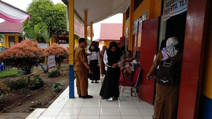 Panitia Temukan Peserta Tes CPNS di Lubuklinggau Sedang Hamil Bawa Gunting Sebagai Jimat
