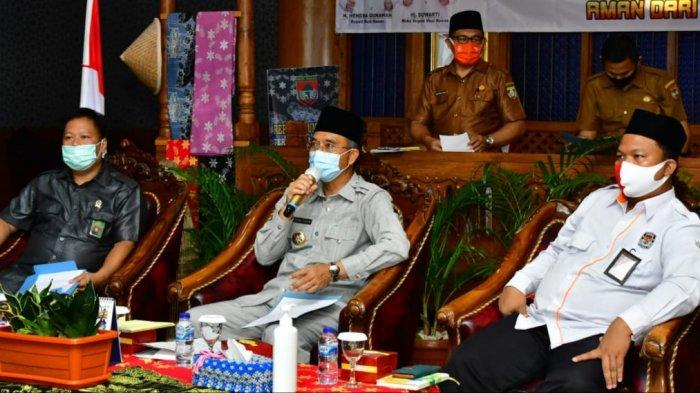 Sukseskan Pilkada, Pemkab Musirawas Gelar Rakor Penegakan Hukum Pencegahan Covid-19