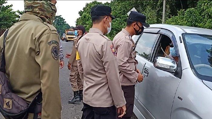 Nekat Masuk Jalan Tikus Pria Ini Kecele Gagal Masuk Palembang, 38 Titik Dikawal, Berikut Pantuannya