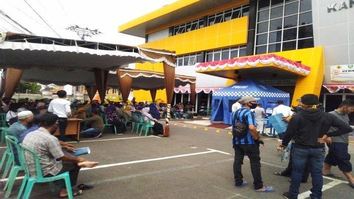 Program Pemutihan Pajak, Hari ini Ada 2.732 Wajib Pajak di Palembang Terdaftar, Sabtu Hanya 337