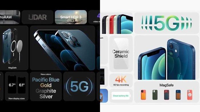 iPhone 12 Resmi Diluncurkan, Berikut Spesifikasi dan Harga Serta Kecanggihannya di Acara Hi Speed