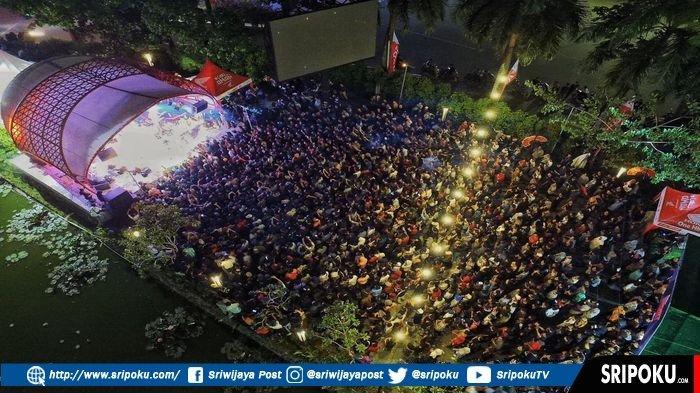 Fourtwnty Gemparkan Penonton Honda Sport Motoshow 2019 di Avenue of The Stars Palembang Icon