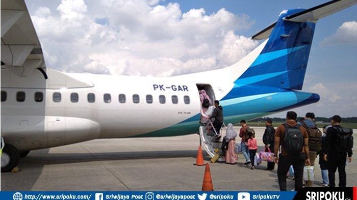Garuda Beri Dikson Harga Tiket Sebulan Penuh untuk Rute Palembang-Medan Via Padang