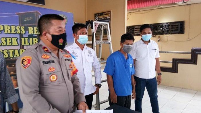 Pencurian di Palembang, Bermodalkan Alat Seadanya Tukang Servis AC Bawa Kabur Mesin Luar AC