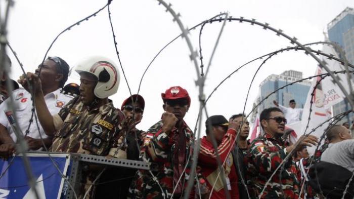 Dipentung Polisi, Kepala Dua Pendukung Prabowo Bocor