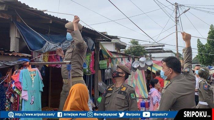 Pedagang di Eks Pasar Talang Jawa Sekayu Kembali Bandel, TNI-Polri Dikerahkan Lakukan Penertiban