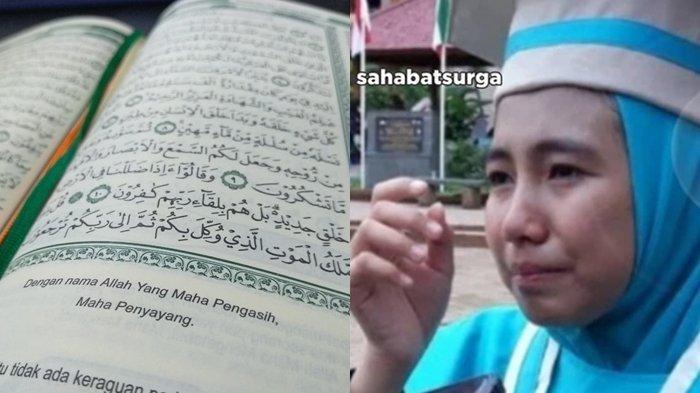 Gadis Remaja Ini Mampu Menghafal Alquran 30 Juz dalam kurun Waktu 45 Hari, Alasannya Bikin Takjub!