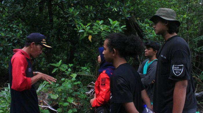 Gemapala Wigwam Unsri Analisis Mangrove di Taman Sembilang