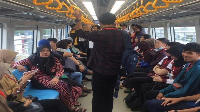 LRT Sumsel Kembali Beroperasi 88 Perjalanan Mulai 31 Desember, Berangkat Terakhir Pukul 19.37 WIB