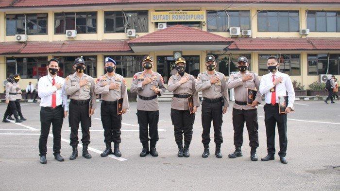 Dua Perwira Polres Muara Enim Dapat Penghargaan Kapolda Sumsel, Salah Satunya AKP Desi Ariyanti