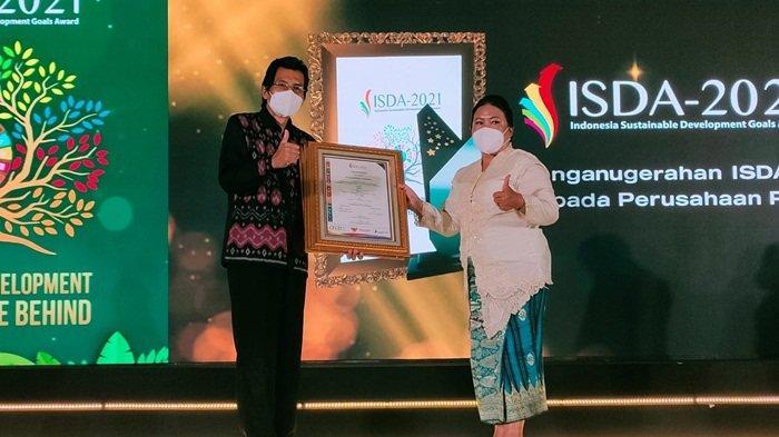 Pusri Borong Penghargaan, CEO Terpopuler di Media Digital dan ISDA Award 2021