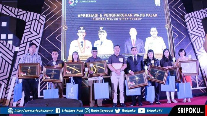 Pemerintah Kota Palembang Beri Penghargaan Wajib Pajak Tertib
