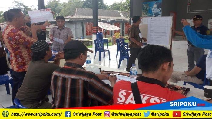 Pasangan Herman Deru-Mawardi Yahya Unggul di TPS Rutan Sarang Elang Baturaja