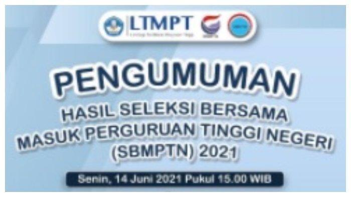 LINK Pengumuman SBMPTN 2021, Login https://sbmptn.ui.ac.id/count.html, Ada Unsri Bisa Cek Dari HP