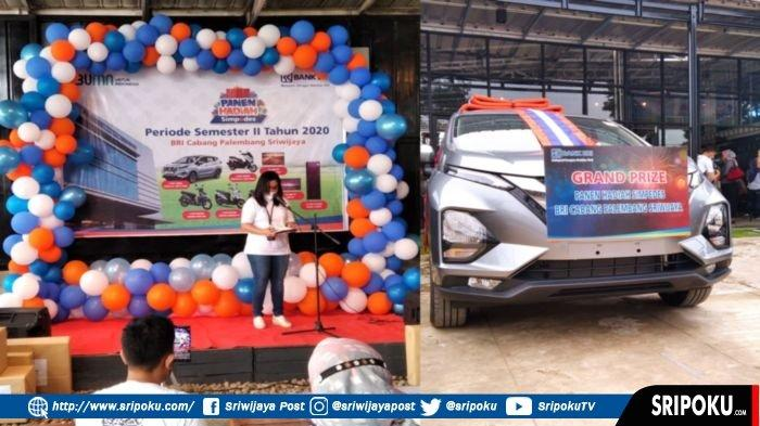BRI Cabang Palembang Sriwijaya Gelar Pengundian Panen Hadiah Simpedes Semester II Tahun 2020