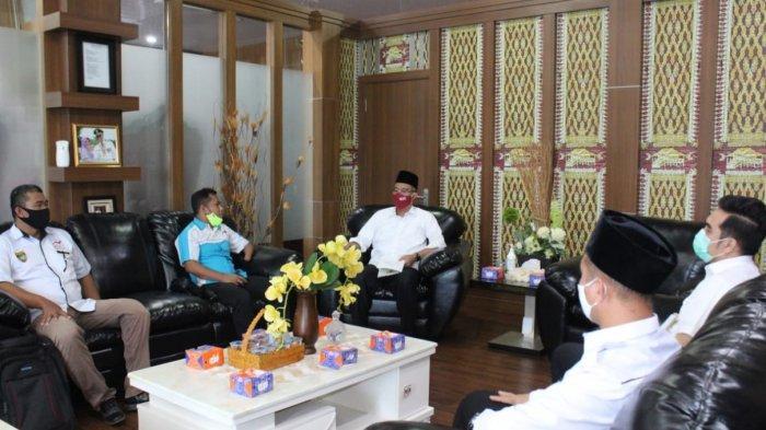 Persiapan Menghadapi Agenda Paralympic 2021, Pengurus NPCI Audiensi dengan Bupati Musirawas