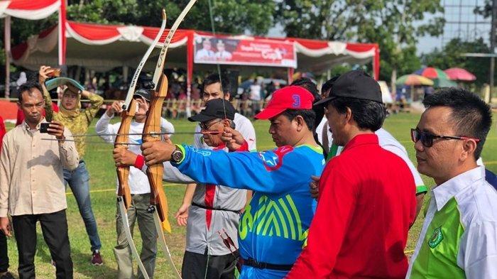 Askolani Buka Pra Kompetisi Panahan Bupati Cup