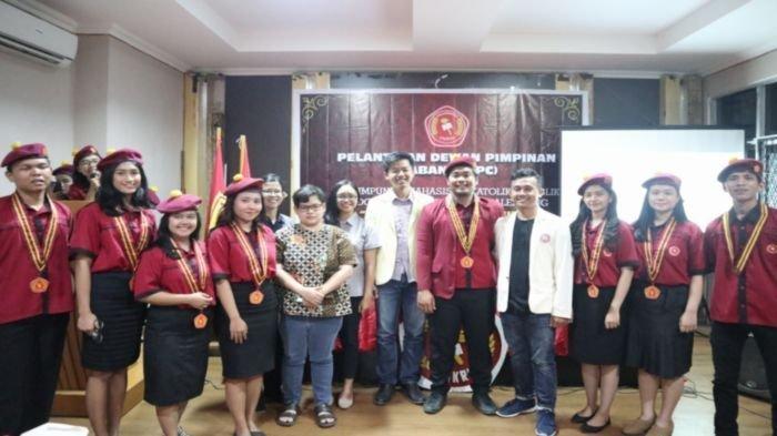 Pengurus PMKRI Palembang Periode 2019-2020 Resmi Dilantik di Gedung Kwarda, Fokus ke Era Digital
