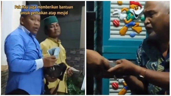 BERKAH Video Viral Dimarahi Baim Wong, Sosok Pengusaha Ini Tebar Rejeki di Sekitar Rumah Kakek Suhud