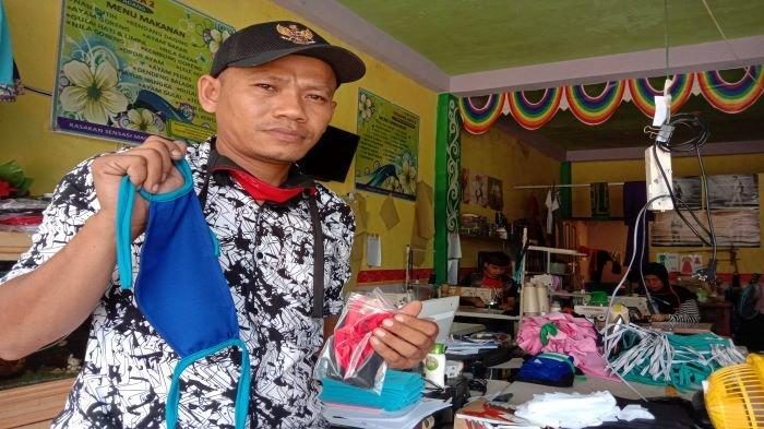 Cerita Pengusaha Konveksi di Palembang Ini, Produksi & Bagikan Masker Kain Gratis di Tengah Covid-19