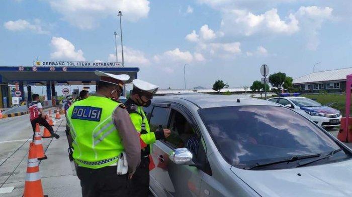 BERLAKU hingga 23 Agustus 2021, Ini Dia Titik Penyekatan di Jalan Tol ke Lampung