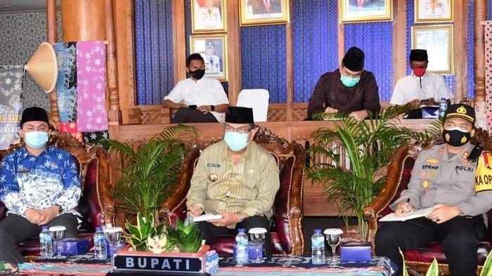Pjs Bupati Musirawas Ikuti Rakor Anev Pelaksanaan Kampanye Pilkada Via Vidcon